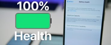 How do I keep my iPhone battery at 100%?