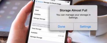 How do I make my iPhone storage go down?