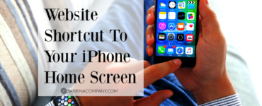 How do I put Shortcuts on my iPhone pictures?