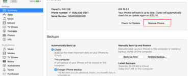How do I reset my iPhone XR without password or computer?