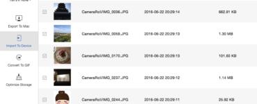 How do I retrieve photos from an iPhone backup?