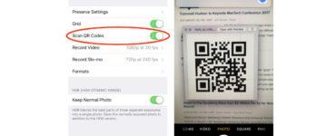 How do I scan QR codes?