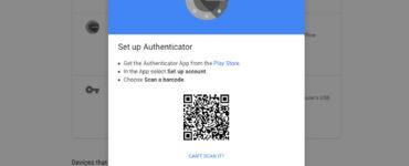 How do I set up authenticator on my new phone?