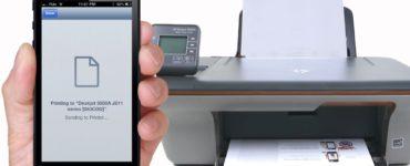 How do I setup a printer for my iPhone?