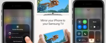 How do I share my iPhone screen with my LG TV?