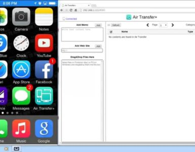 How do I transfer files from iPhone to PC via Bluetooth?