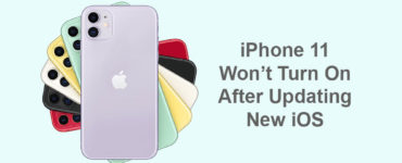 How do I turn my iPhone 11 on after it dies?