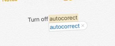 How do I turn off incorrect autocorrect?