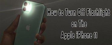 How do I turn off the flashlight on my iPhone 12?
