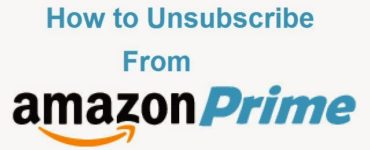 How do I unsubscribe from prime?