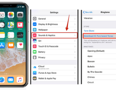 How do I upload a ringtone to my iPhone?