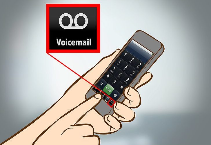How do you check your voicemail?
