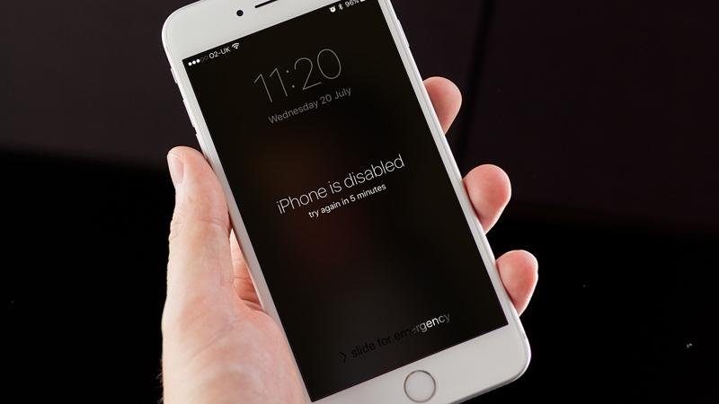 How do you fix an iPhone that is disabled?