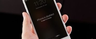 How do you restore a disabled iPhone?