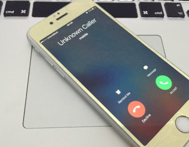 How do you reverse an unknown call?