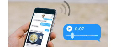 How do you send a voice message without an iPhone?