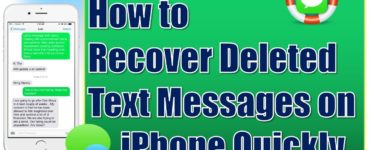 How far back can you retrieve deleted text messages on iPhone?
