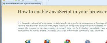 Is JavaScript enabled on my phone?