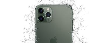 Is the iPhone 11 Pro waterproof?
