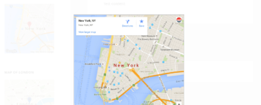 Is there a Google Maps widget?