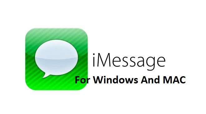 Is there any way to get iMessage on Windows?