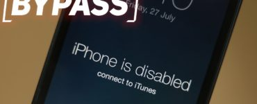 What do I do if my iPhone is disabled?
