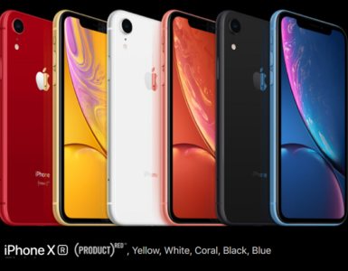 What does R stand for iPhone XR?