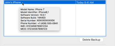 What does iPhone serial number tell you?