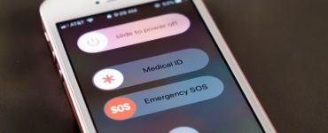 What happens if you accidentally hit the emergency SOS button?