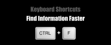 What is Ctrl F for?