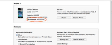 What is UDID number in iPhone?