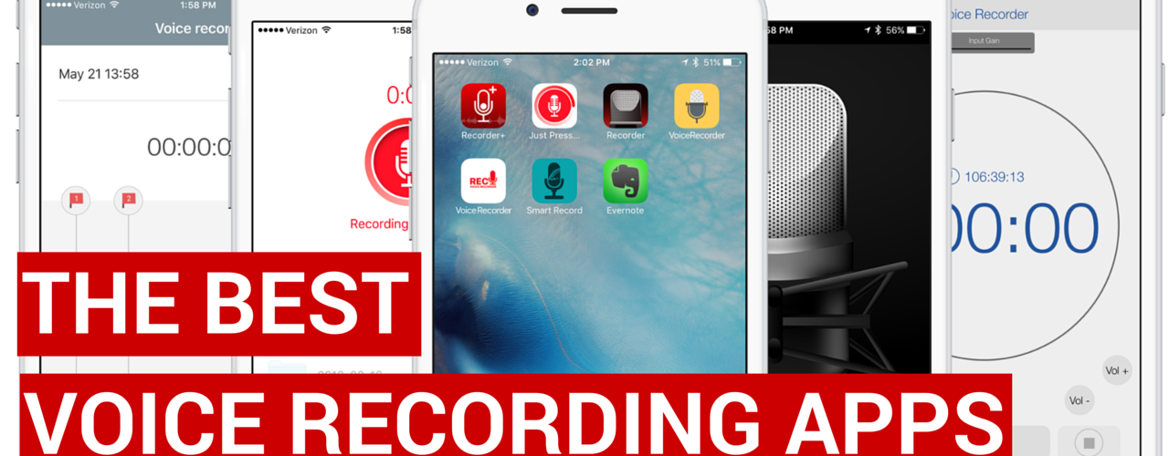What is the best voice recorder app for iPhone?
