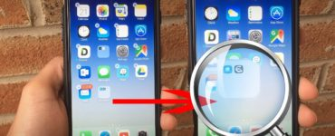 What is the hidden folder on iPhone?
