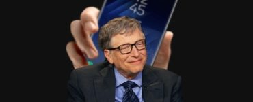 What phone do Bill Gates use?