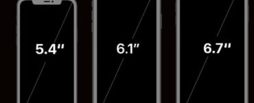 What screen size is the iPhone 12?