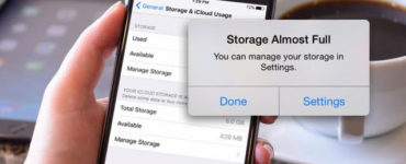 What should I delete when my phone storage is full?