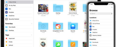 Where can I find downloaded files on iPad?