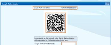 Where do I enter the Google Authenticator setup key?