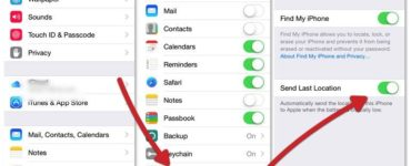 Where do I find printer settings on my iPhone?