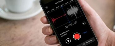 Where is the voice recorder on my iPhone?