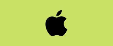 Why Apple logo is half eaten?