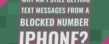 Why am I still getting texts from a blocked number iPhone?