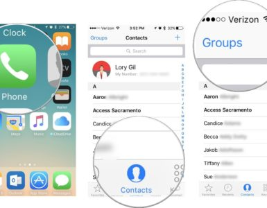 Why are my Contacts missing on my iPhone?