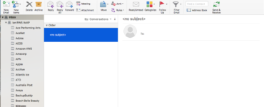 Why are my emails not showing up in my inbox?