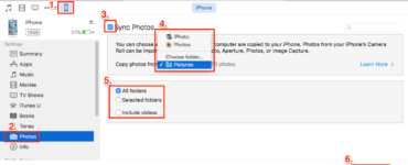 Why can t I transfer photos from iPhone to PC?