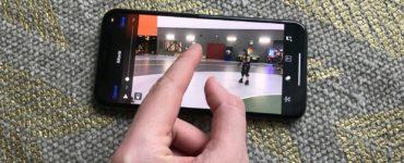 Why can't I turn my videos sideways on iPhone?