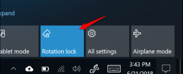 Why can't I turn off rotation lock?