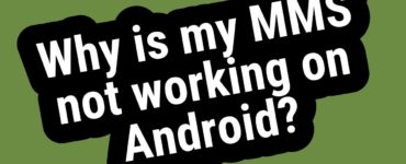 Why is my MMS not working?