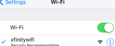 Why is my Wi-Fi saying weak security on my iPhone?