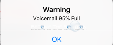 Why is my voicemail full after deleting iPhone?